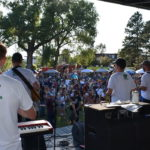 Attendees enjoy Sunnyside Music Festival